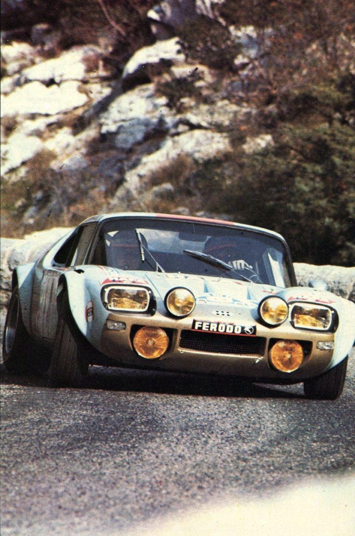 Critérium des Cévennes (1972) - J.Ragnioti - Jidé - Virage auto Novembre 1972  Ragnotti driving the Jidé