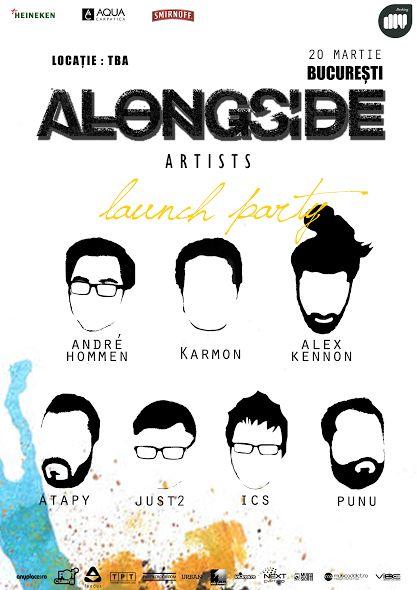 AlongSide Artists launch party
