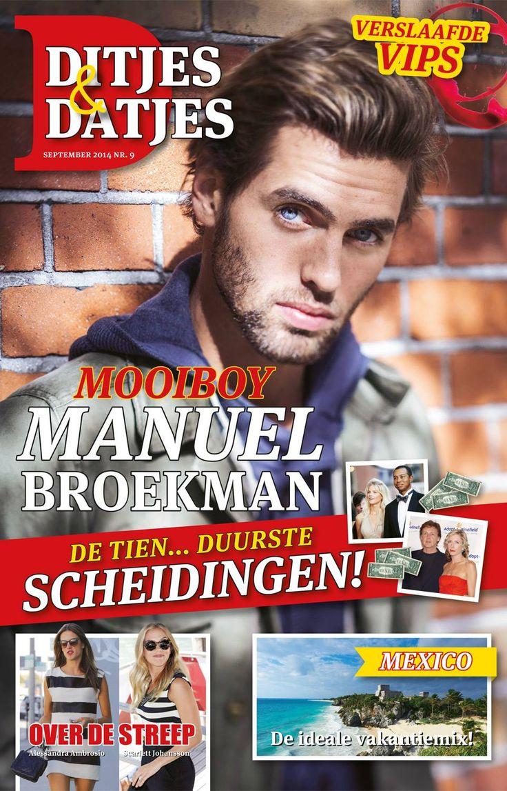 Cover Ditjes & Datjes 9, 2014 met Manuel Broekman. #DitjesDatjes