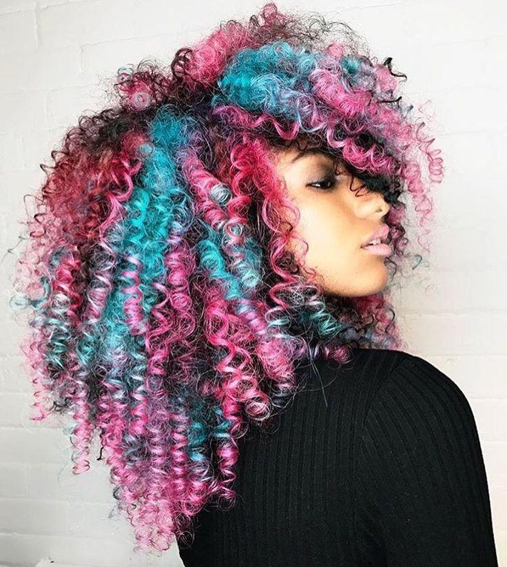 Love these colors on @bethint by @shelleygregoryhair @leysahairandmakeup Just gorgeous  #voiceofhair VoiceOfHair.com