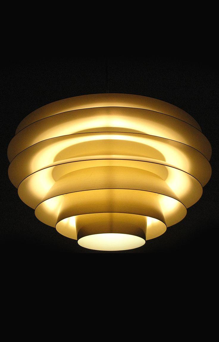 Svend Middelboe verona ceiling lamp in brass, more Svend Middelboe lighting and mid century lighting at Studio Schalling