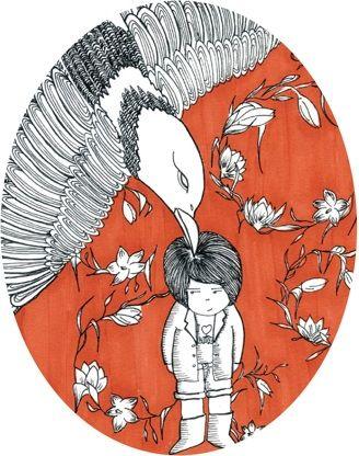 La Minipini is a creation of Maria Pia Santillo. Illustrator by chance, historian for education, she works in environmental education for children. On her desk you find paper, colors and tea.   www.flickr.com/photos/superminipini gamberinitalia.it/Gamberini_Italia/Minipini.html