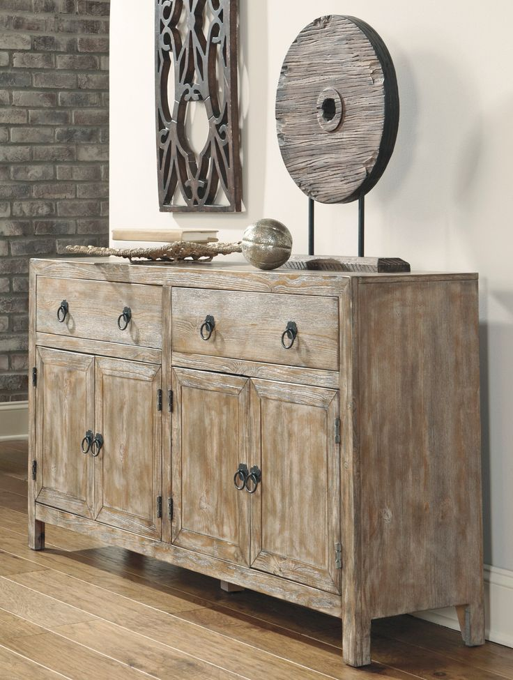 Buy Ashley Furniture T500-360 Rustic Accents Accent Cabinet- Bringithomefurniture.com