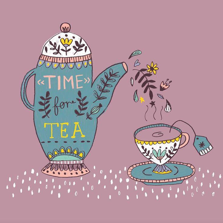 Time for tea by Lisa Barlow (Martin)