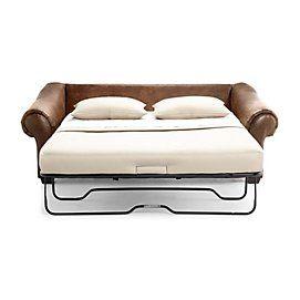 """Rocco"" Leather Sofa Bed | Sears Canada"