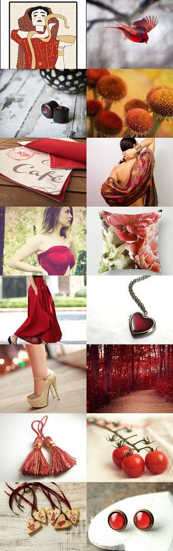 Royal Reds by Sherrie Isenberg on Etsy--Pinned with TreasuryPin.com