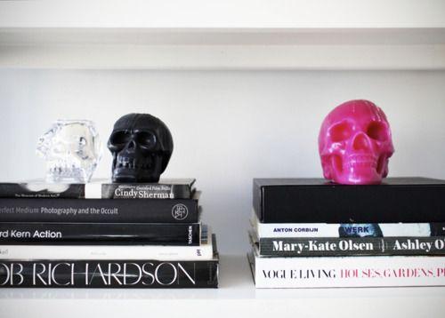 Spooky Home: Idea, Coffee Tables Books, Heart, Skull Decor, Candles, Interiors Design, Fashion Books, Apartment, Coff Tables Books
