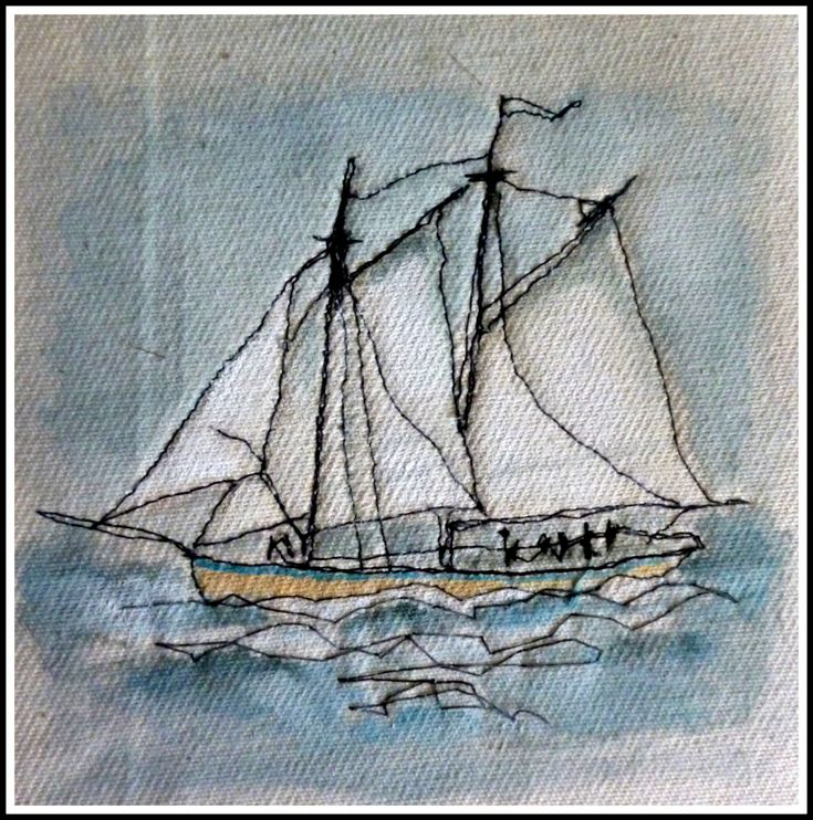 Sailing boat by Loopy