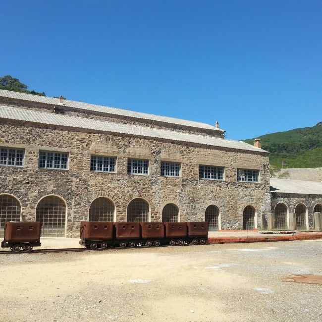 Monteponi Mine, Iglesias, Carbonia-Iglesias Province, Sardinia, Italy.