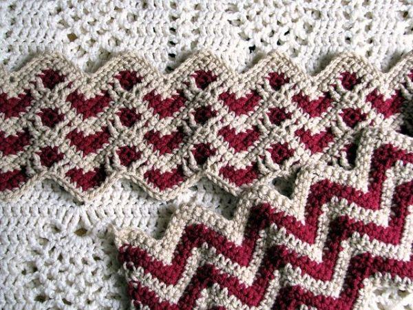 Crochet Sweetheart Ripple Afghan - Video Tutorial by Maggie Chambers