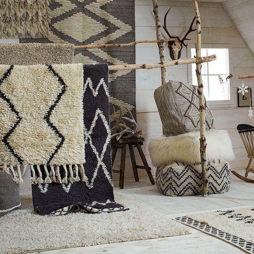 Darby Wool Shag Rug | West Elm