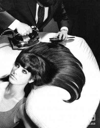 Выпрямление волос, 1960-е
