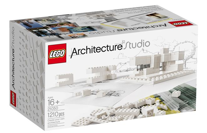 """""""Architecture Studio"""": New set from Lego, """"comes with 277-page guidebook filled with architectural concepts and building techniques alongside real world insights from prominent architecture studios from around the globe"""""""