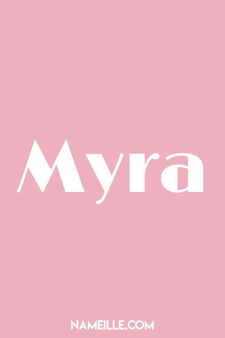 Myra I List of Vintage Baby Names I Namielle.com