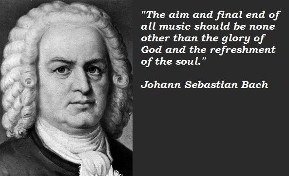 Johann Sebastian Bach ... not only a brilliant composer, but a father of 20 children (4 sons became composers)