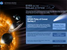 Button to Launch Eyes on the Solar System Interactive