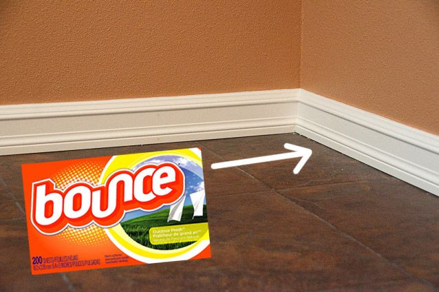 Dryer sheet to help keep your baseboards dust free.: Clean Tips, Good Smell Laundry, Repellent Hair, Houses Smell, Smell Good Houses, Dryer Sheet, Fabrics Softener, Clean Baseboards, Fresh Laundry