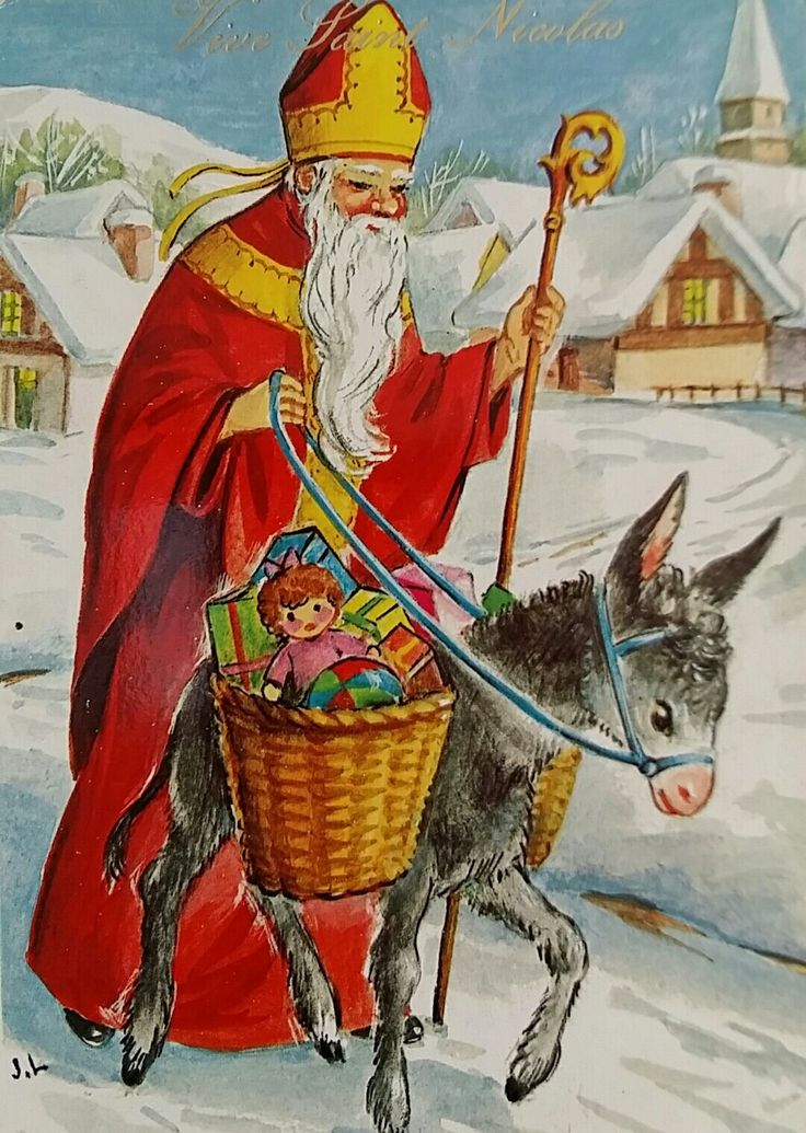 54 Best Saint Nicolas Images On Pinterest Saint Nicholas