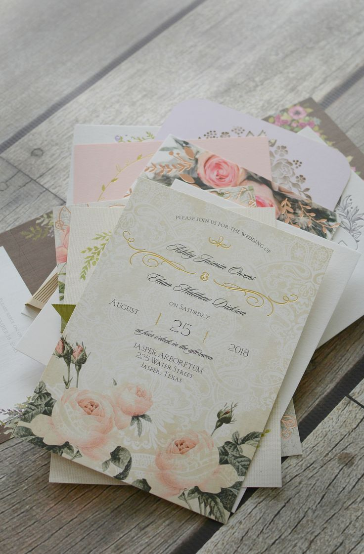 Nothing Makes It Official Like Seeing Your Freshly Printed Wedding  Invitations For The First Time.