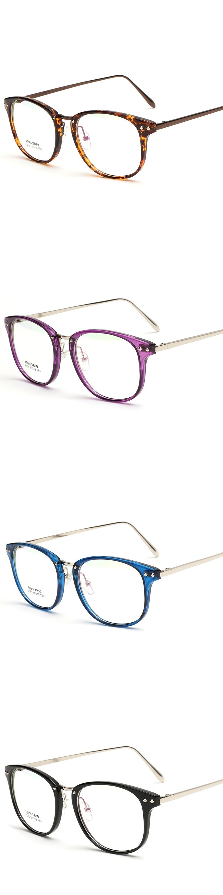 2017 Fashion Unisex  TR90 Highlight Oval Frame Vintage Style High Quality Glasses Frame Laura Fairy LF2555