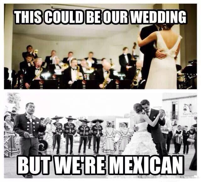 i want my wedding like the pic on the bottom:)#mexican