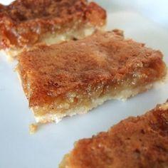Butter Tart Squares*****