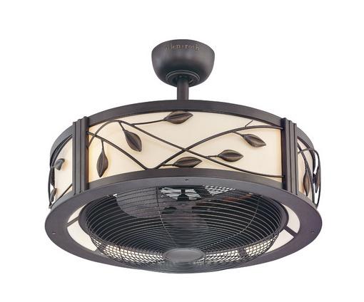 Shop Allen Roth 3 Light Vallymede Brushed Nickel: Ceiling Fan (3-blade)