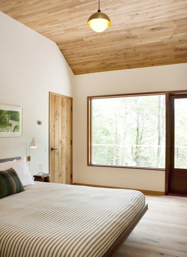 hudson woods by lang architecture myhouseidea modernes ferienhaus schlafzimmer modernemaster schlafzimmermodernen - Masterschlafzimmerdesignplne