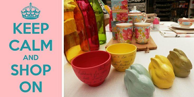 Happy & Colourful at Beach House Interiors & Homeware!