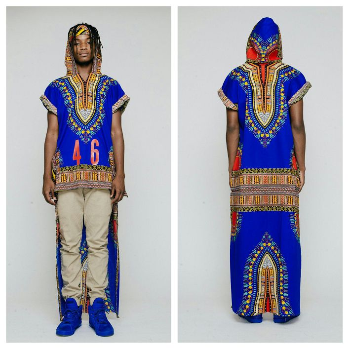 short in front and long in back dashiki 171 terrence