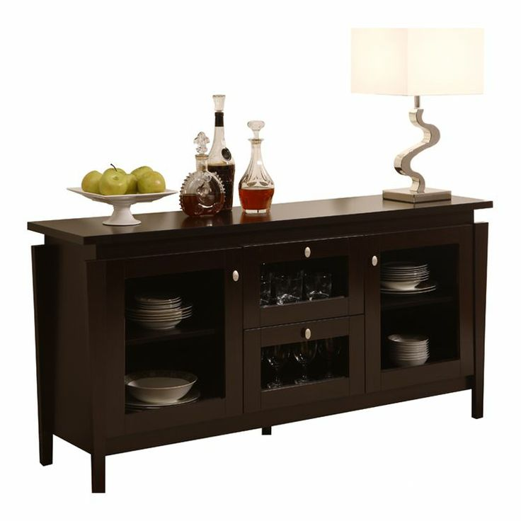 Nadia Buffet Cabinet in Cappuccino