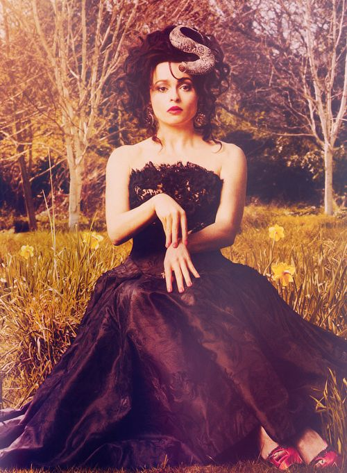 im going to consider Helena Bonham Carter a model