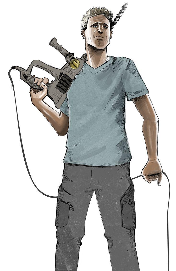 #illustration #handdrawn #ink #comic #AndreasWimmer #gezeichnet.com #gezeichnet