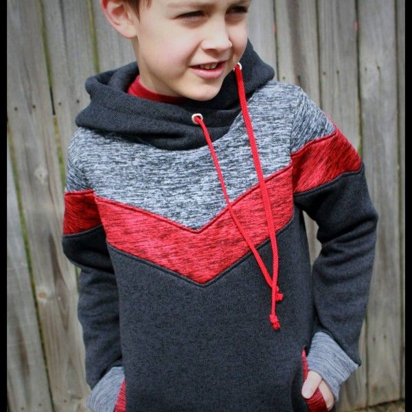 Terra's Treasures Elevation Hoodie - pattern. I want to make this for Nick!~