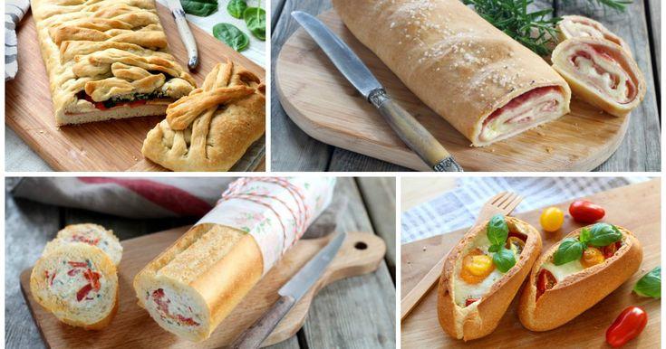 Lasciatevi conquistare da questi 6 tipi di pane farcito. La preparazione non è…