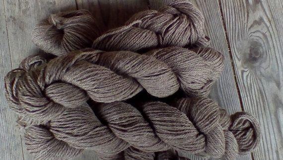 Shetland yarn worsted weight by ThornsNThistlesFarm on Etsy