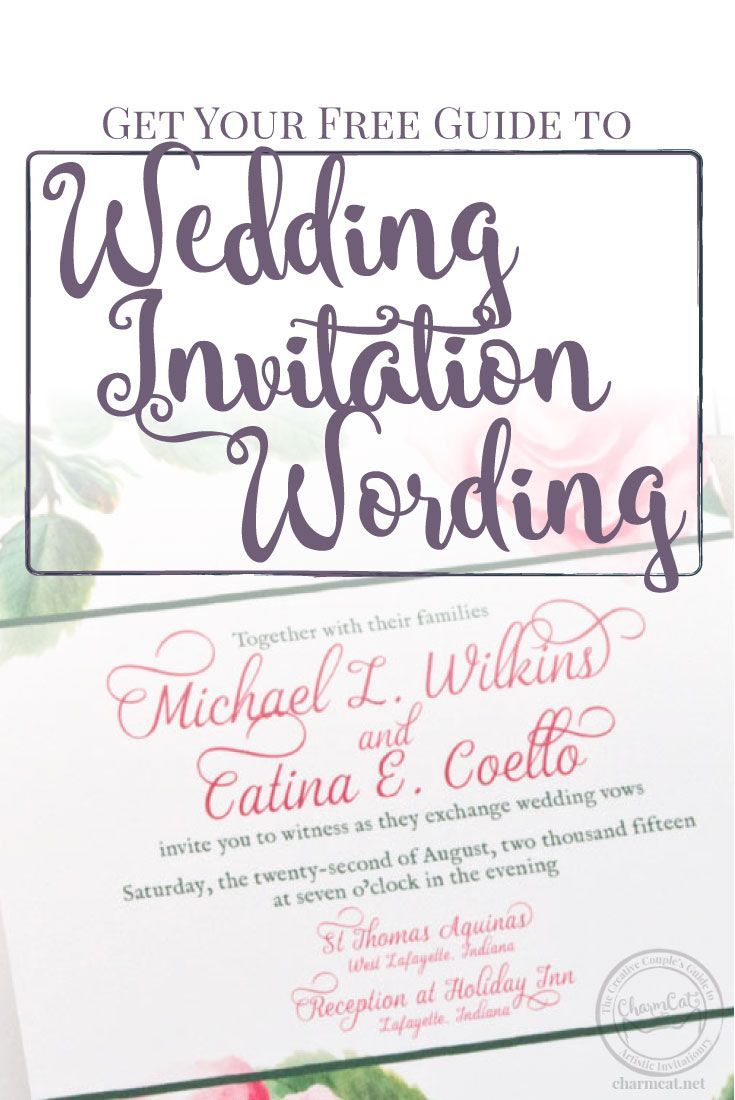 Sign Up For CharmCat Emails Budget Wedding InvitationsWedding Invitation WordingWatercolor