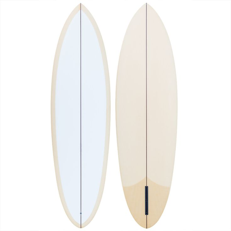 """Grant Noble 6'6"""" Round Tail Single Fin Surfboard"""