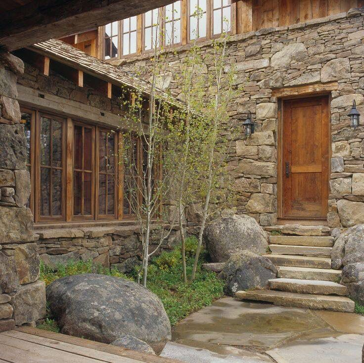 Courtyard Entry Collection And House: 13 Best Log Cabin Entry Ways Images On Pinterest