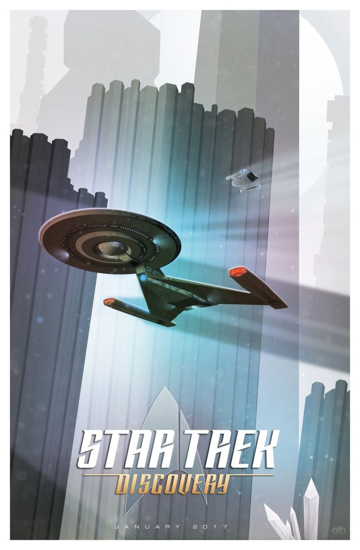 "frontier001: ""Cool fan art of Discovery from @GeekFilter on Twitter. """