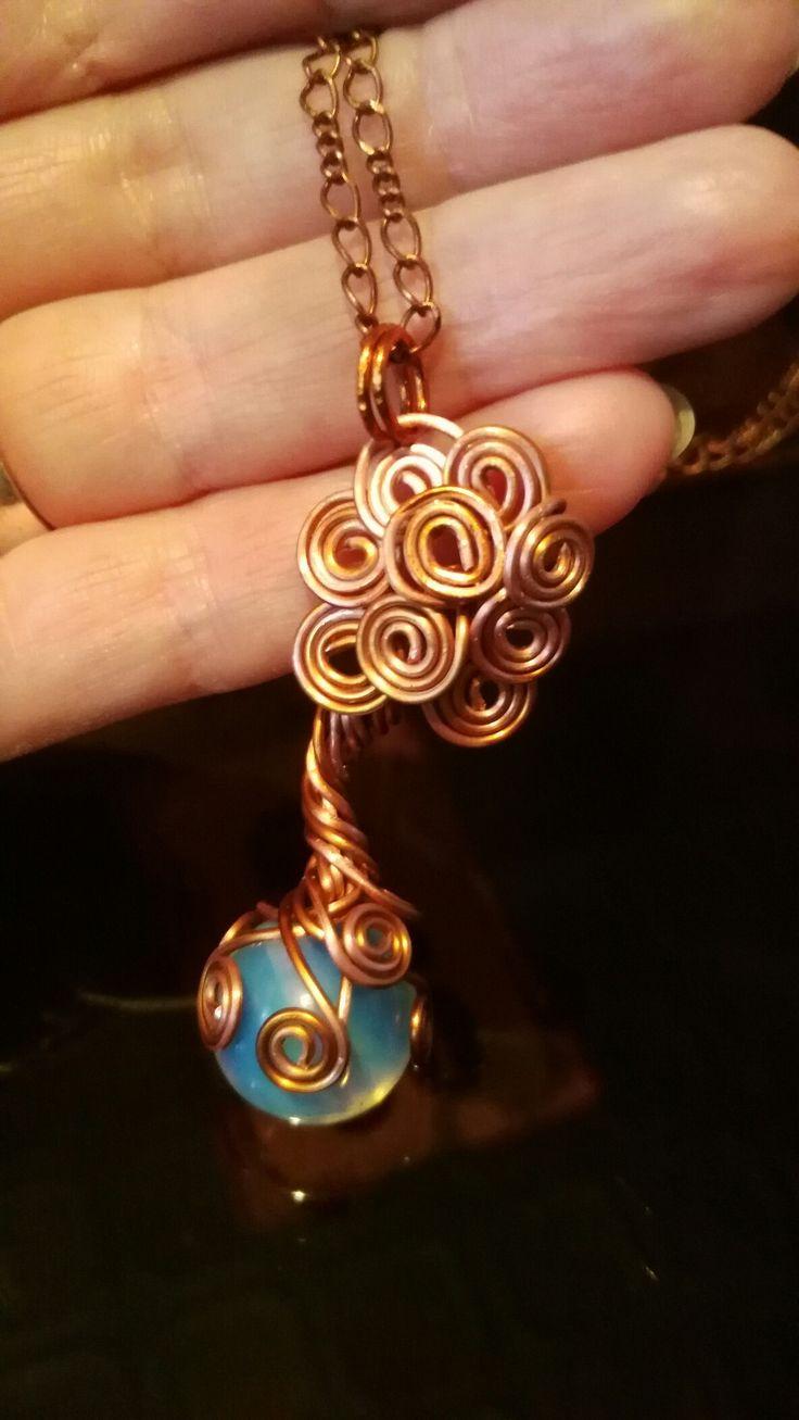Медь, лунный камень, древо, символ кельтов