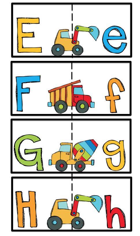 Preschool Printables: Construction
