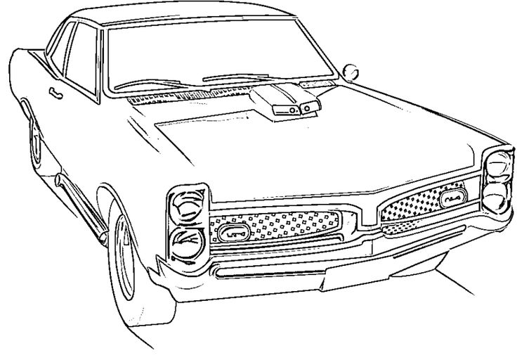 9 best coloring pages cars images on pinterest