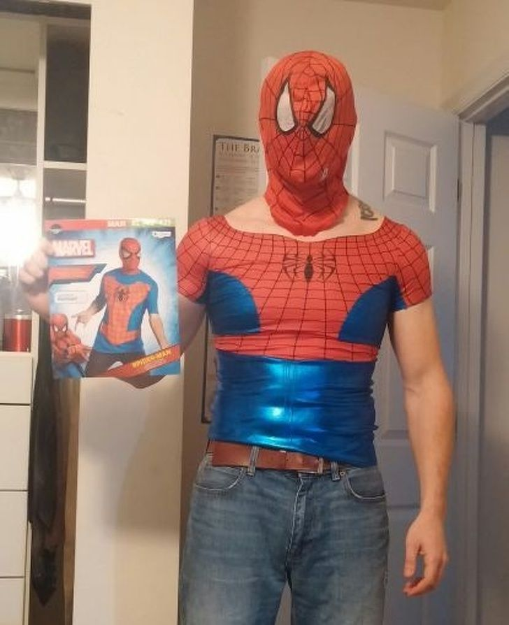 Днем, картинки смешные про человека паука