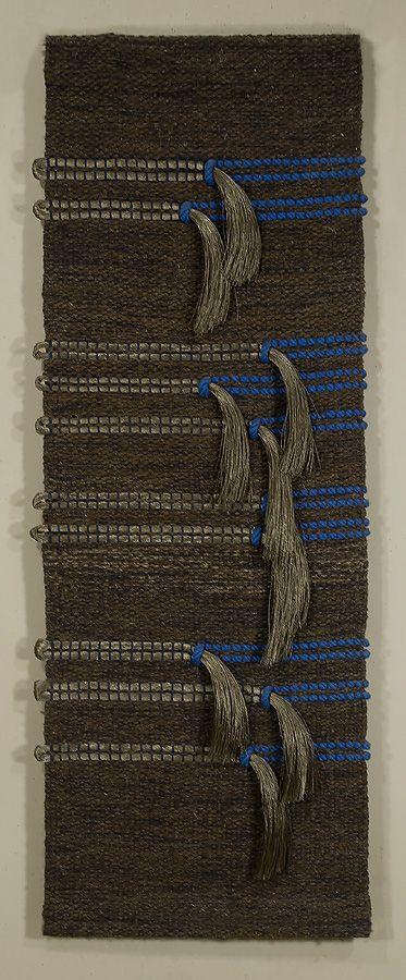 M-168-L. Silver-Blue Connection