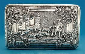 Greyhounds snuff box