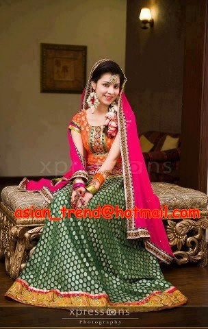 Mayoon and mehndi dress http://www.myoffstreet.com/product/129029