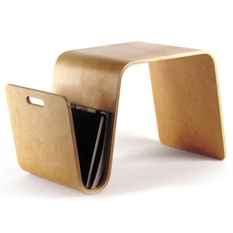 Mag Table by Offi Furniture at @2Modern - One of my favorite end table designs of all time – form and function!