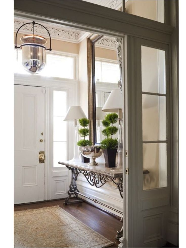 "Foyer double door ""Vestibule"""