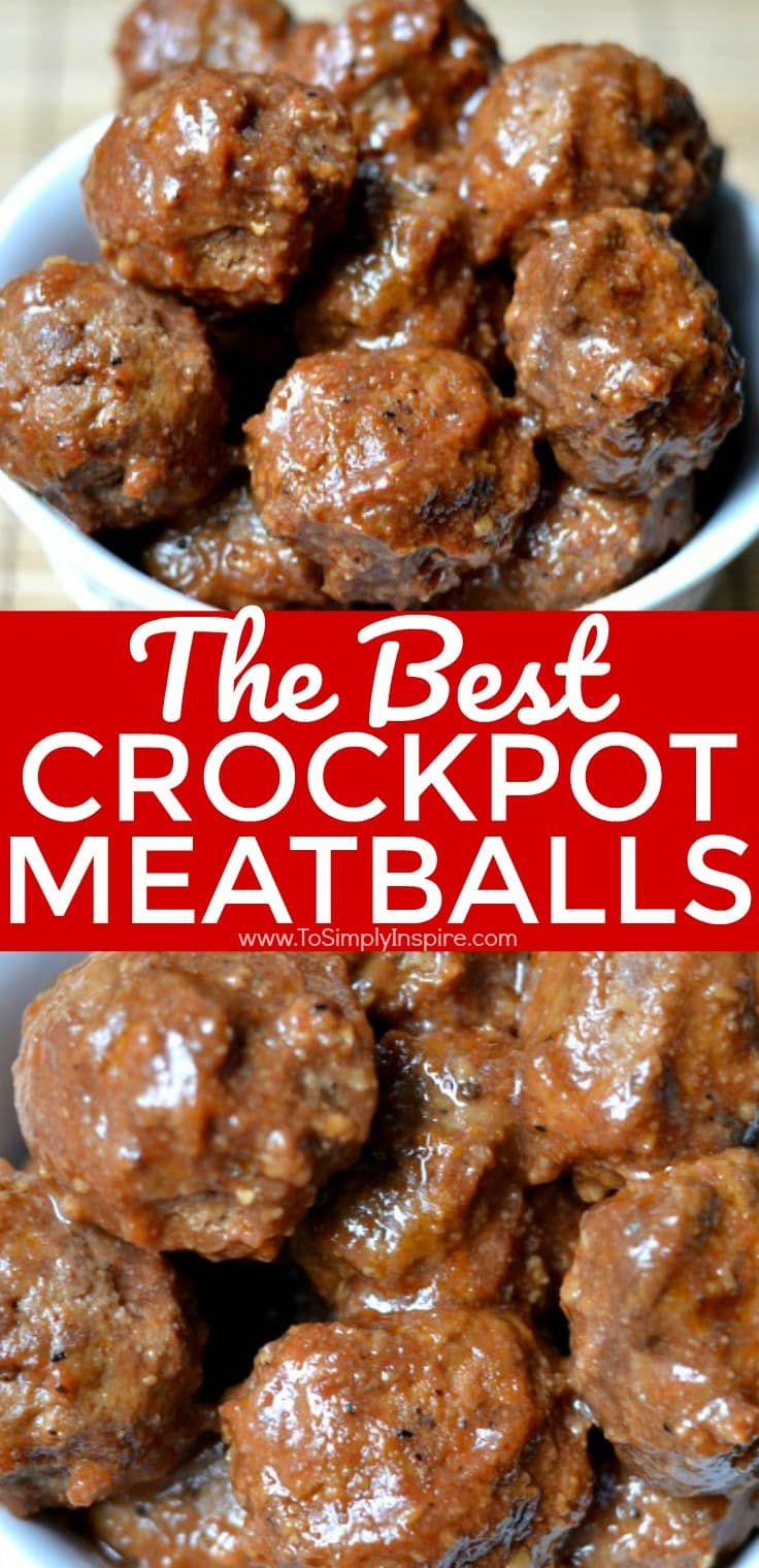 These Meatballs In Jelly Ketchup Sauce Are A Long Time Favorite Appetizer To Serve At Best Crockpot Meatballs Crockpot Recipes Slow Cooker Crock Pot Meatballs